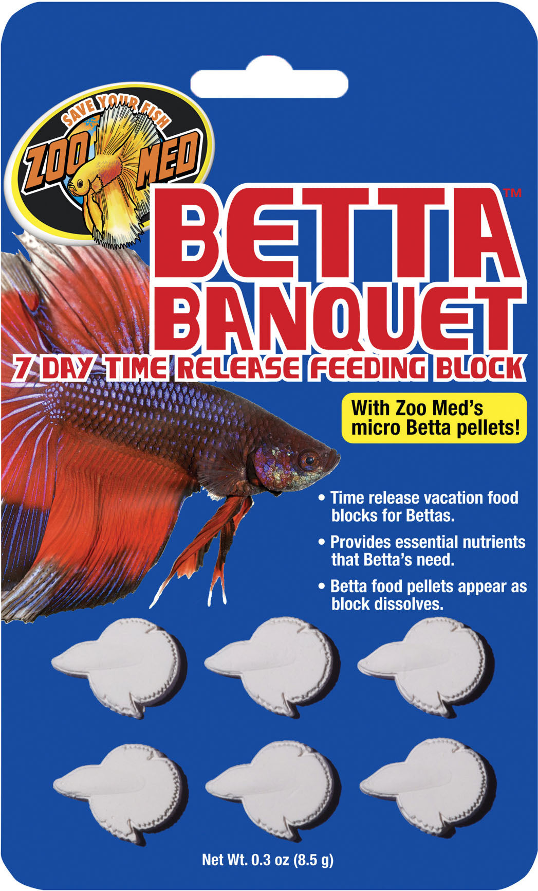 Betta Banquet Feeding Block 7 Day Time Release