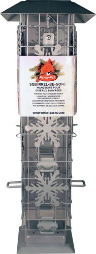 Wild Bird Squirrel Be Gone Snowflake Feeder