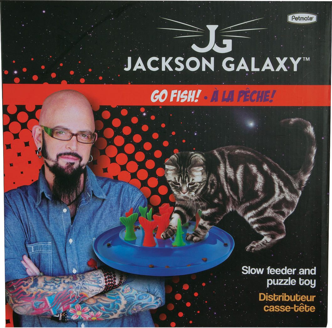 Jackson Galaxy Go Fish Cat Toy