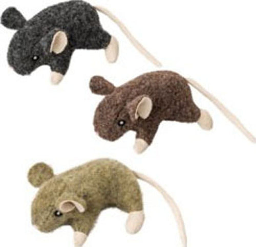 Wool Mouse W/catnip Cat Toy