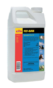 Fly-ban Synergized 7.4% Pour On Insecticide