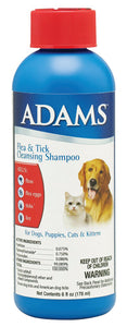 Adams Flea & Tick Cleansing Shampoo