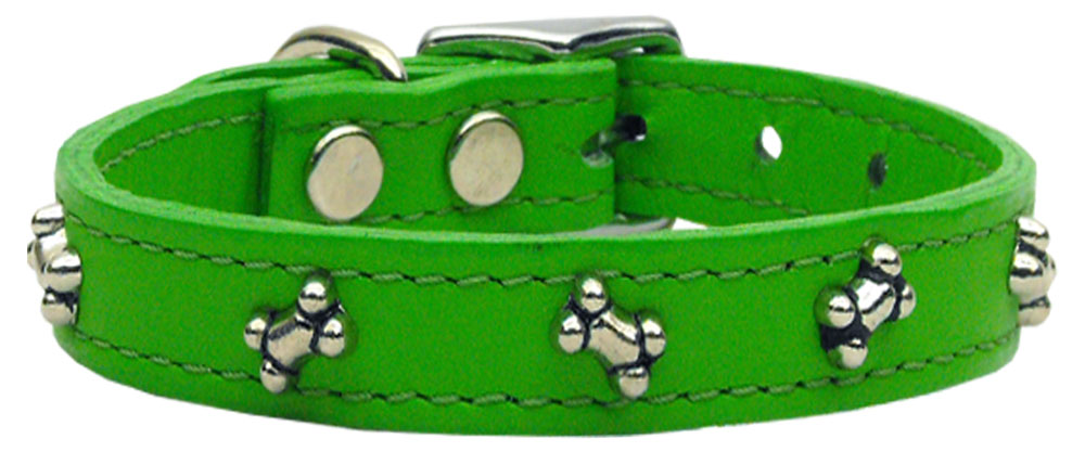 Bone Leather Emerald Green 16