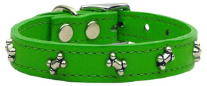 Bone Leather Emerald Green 10
