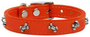 Bone Leather Orange 22