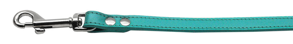 Fashionable Leather Leash Jade 1/2'' Wide