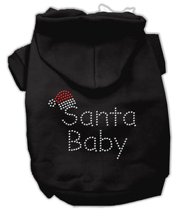 Santa Baby Hoodies Black L (14)