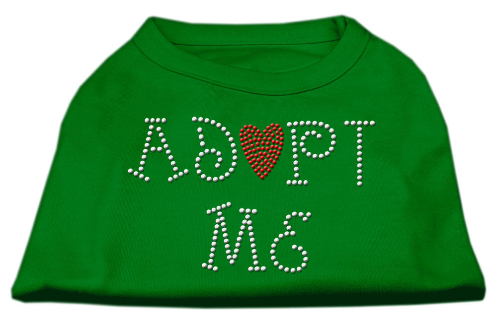 Adopt Me Rhinestone Shirt Emerald Green XL (16)