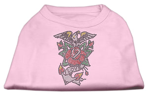 Eagle Rose Nailhead Shirts Light Pink M (12)