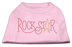 RockStar Rhinestone Shirts Light Pink XL (16)