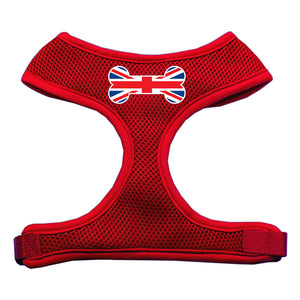 Bone Flag UK Screen Print Soft Mesh Harness Red Large