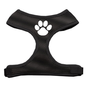 Paw Design Soft Mesh Harnesses Black Medium