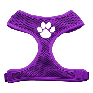 Paw Design Soft Mesh Harnesses Purple Medium
