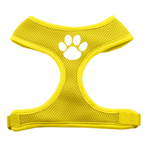Paw Design Soft Mesh Harnesses Yellow Small