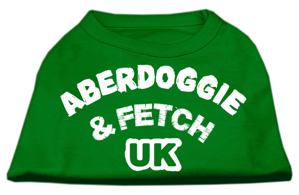 Aberdoggie UK Screenprint Shirts Emerald Green Sm (10)