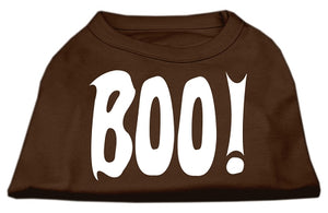 Boo! Screen Print Shirts Brown XXL (18)
