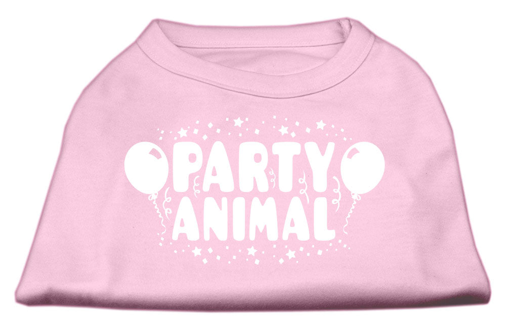 Party Animal Screen Print Shirt Light Pink XXXL (20)