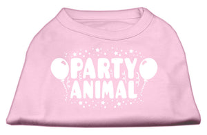 Party Animal Screen Print Shirt Light Pink Sm (10)