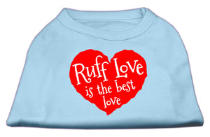 Ruff Love Screen Print Shirt Baby Blue XXXL (20)