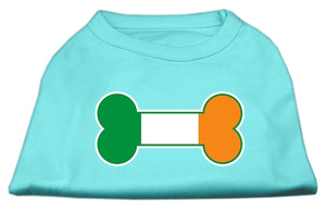 Bone Flag Ireland Screen Print Shirt Aqua Med (12)