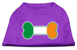 Bone Flag Ireland Screen Print Shirt Purple XL (16)