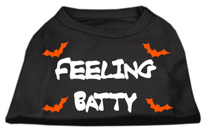 Feeling Batty Screen Print Shirts Black  Sm (10)