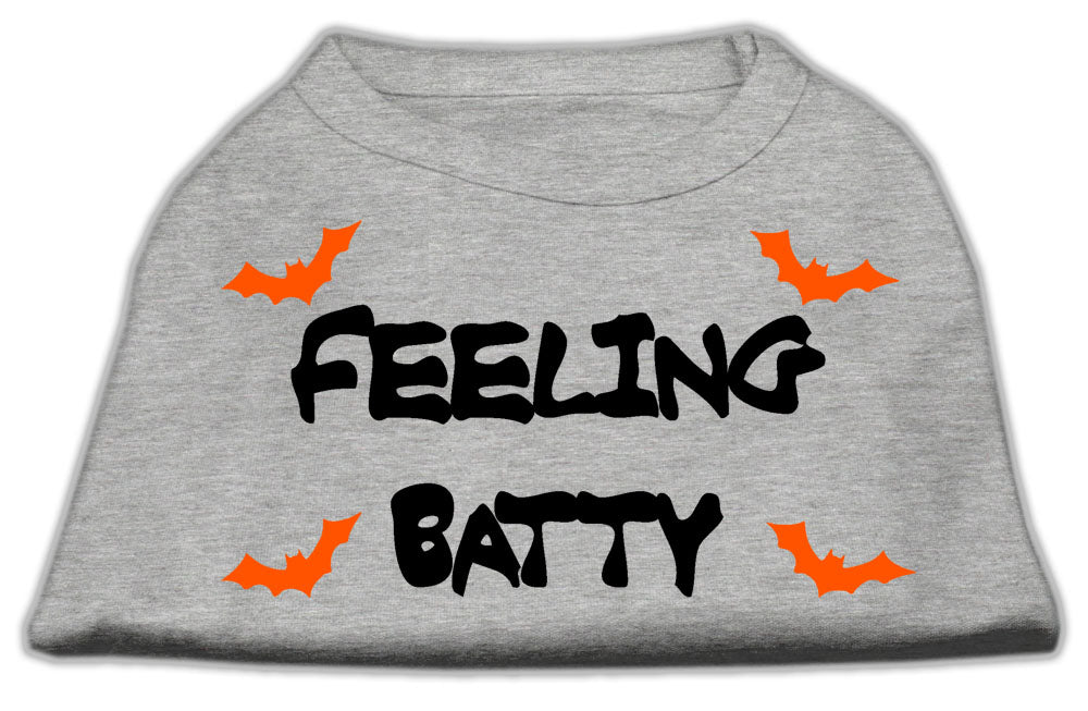 Feeling Batty Screen Print Shirts Grey XXL (18)