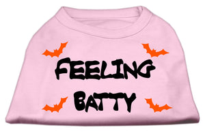 Feeling Batty Screen Print Shirts Pink XXXL (20)