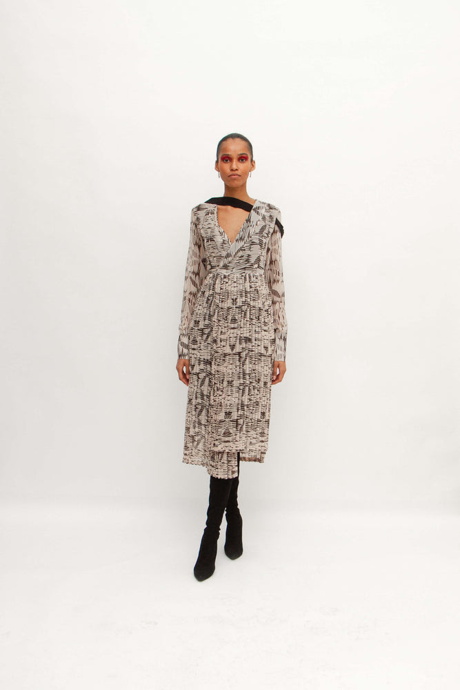Load image into Gallery viewer, Regynn dress - Brown