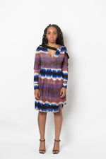 The Regynn dress Tye Dye