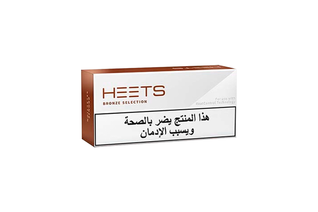 HEETS Bronze Selection Tobacco Sticks
