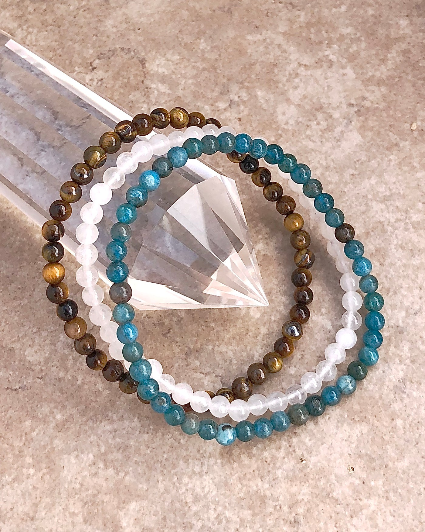 Gemstone Bracelet Sets