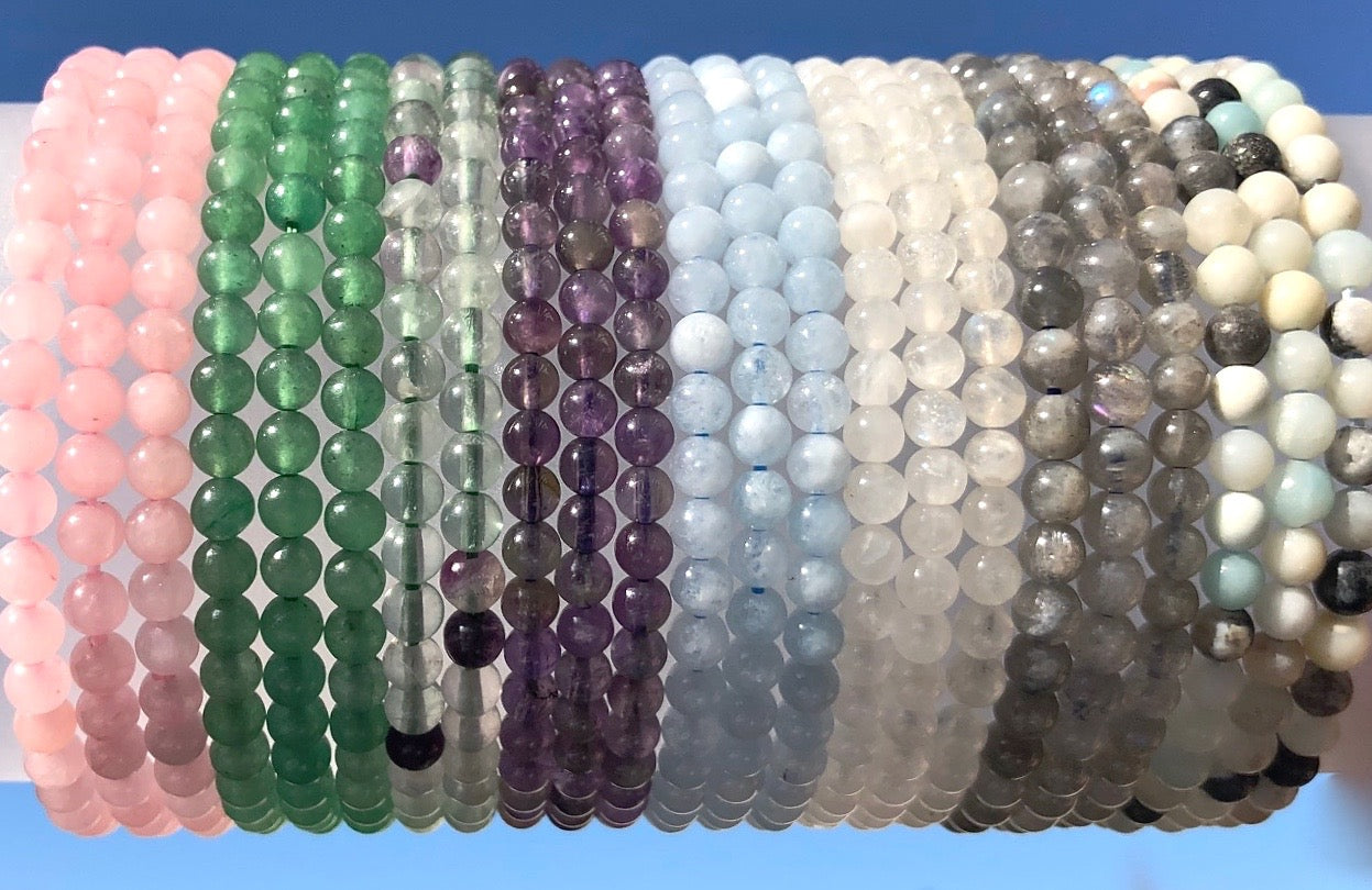 Power 6mm Gemstone Bracelets