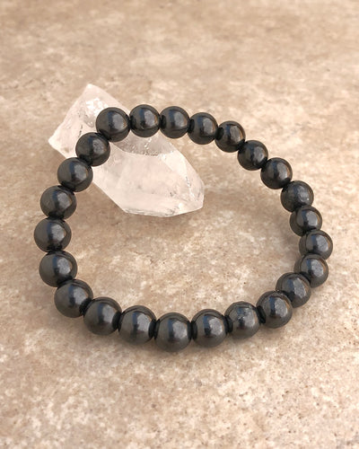 8mm Shungite Gemstone Bracelet