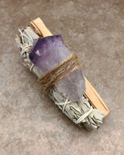 Amethyst Smudge Bundle