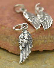 Silver Angel Wing Necklace - DIVINE PROTECTOR