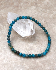 Apatite Mini 4mm Gemstone Bracelet