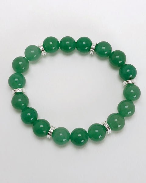 Aventurine 10mm Gemstone Bracelet