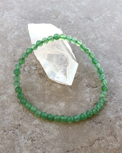 Aventurine Mini Gemstone Bracelet