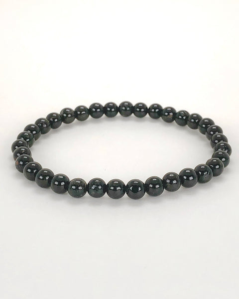Black Tourmaline 6mm Gemstone Bracelet