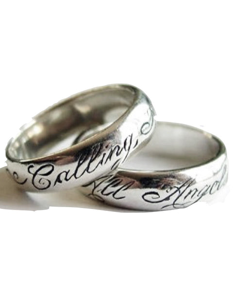 CALLING ALL ANGELS - Sterling Silver Ring