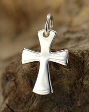 Silver Celtic Cross Necklace - ABIDING FAITH