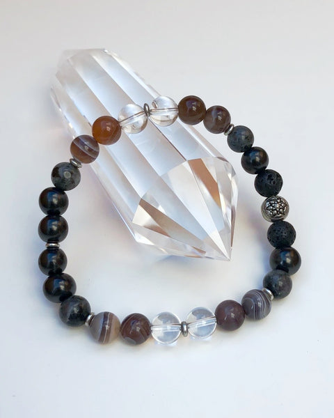 CREATING CHANGE - Men's Gemstone Bracelet