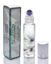 Fluorite Essential Oil Gemstone Roll On - INTUITION