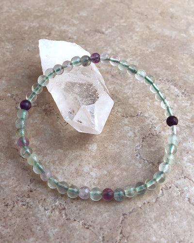 Fluorite Mini Gemstone Bracelet