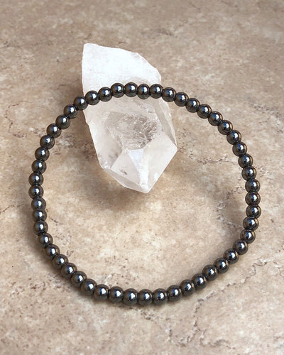 Hematite Mini Gemstone Bracelet