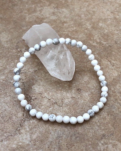 Howlite Mini Gemstone Bracelet