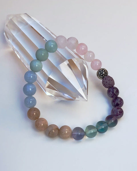 I AM ENOUGH - Gemstone Bracelet