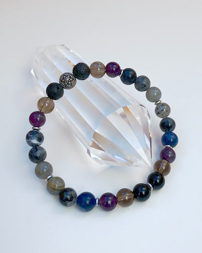 I AM ENOUGH - Men's Gemstone Bracelet