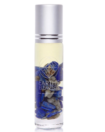 Lapis Lazuli Essential Oil Gemstone Roll On - MEDITATION